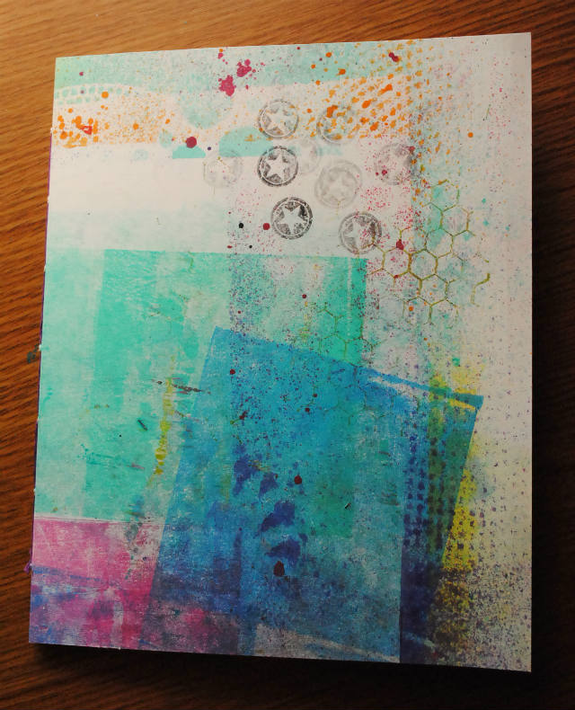 Sketch journal front